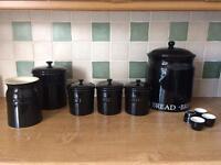 Tea/coffee/sugar/Jars