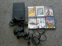 PS2 and 6 games!