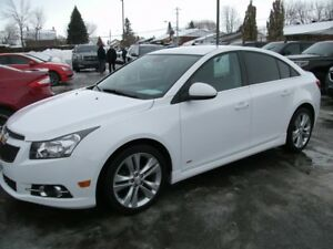 2014 CHEVROLET CRUZE LT TURBO `'RS'
