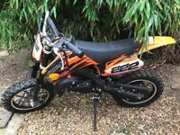 50cc Mini Dirt Bike - unused motorbike
