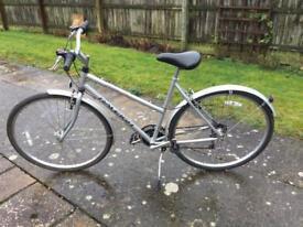 Raleigh Pioneer ladies bicycle ALUMINIUM £120