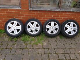 Renault Clio original 15 inch alloy wheels -