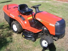 "NICE LAZER CRAFTSMAN 12597RB RIDE ON LAWN MOWER GARDEN TRACTOR**40"" Deck*"