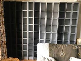 Ikea 'Benno' DVD / CD bookcases
