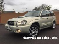 07-56 Subaru Forester 2.5 x turbo rare Manual 4x4 50000 miles full service history!!!