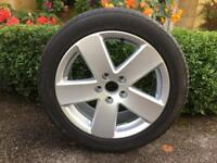 """VW Passat 17"""" alloy spare wheel"""