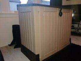 New keter storage box