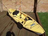 Fishing Kayak PELICAN APEX 116 SE
