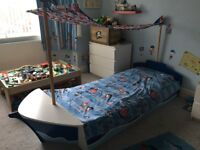 Next children's pirate ship bed