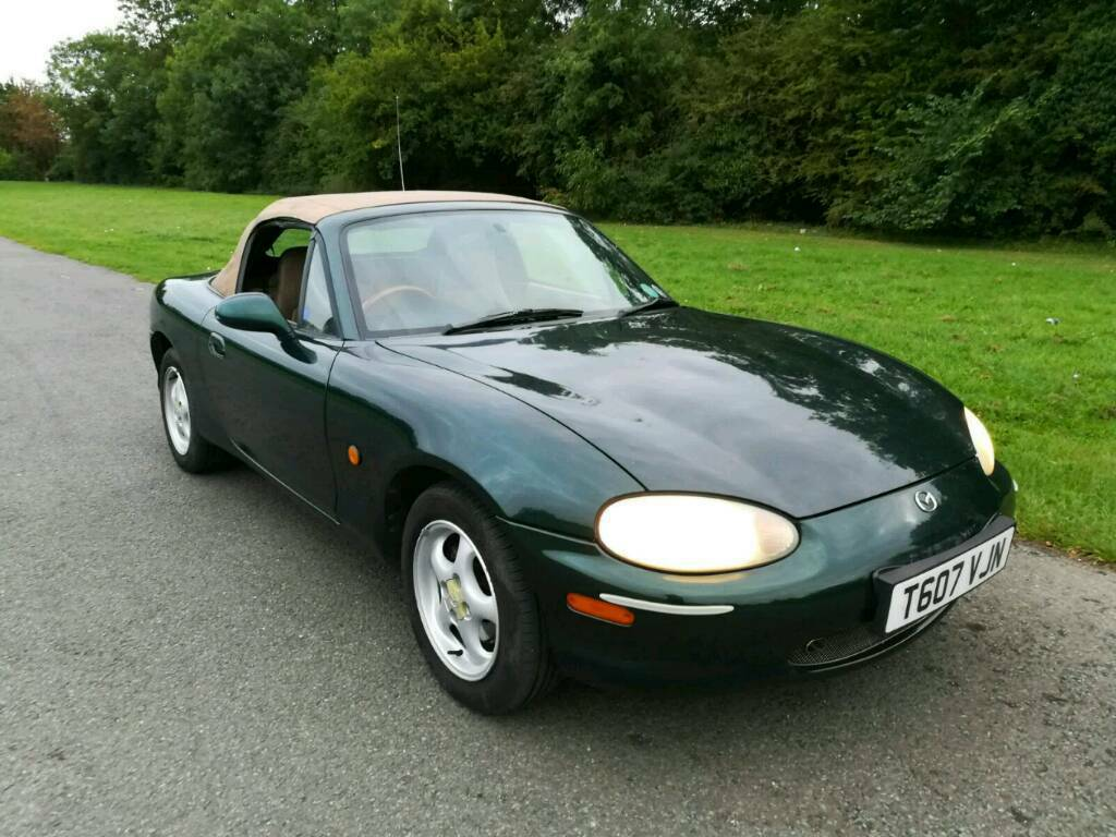 1999 T reg Mazda mx5 1.8 petrol convertible 2 seater car | in ...