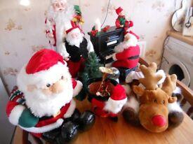 Father Christmas displays
