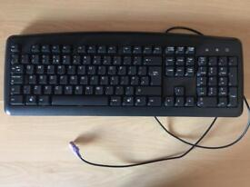 Black keyboard perfect condition. 45cmx14cm approx