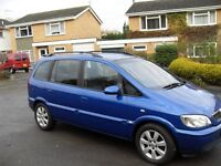 lovely condition vauxhall zafira 7 seater nice family car not ford galaxy i