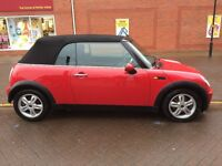 2007 Chilli Red Mini Cooper Convertible - 36882 Miles - 12 Months MOT - Warranty