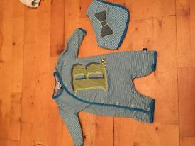 4 newborn ted baker outfits