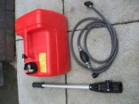 outboard motor auxillary petrol tank , pipe and handle only used 3 or 4 times