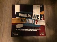 Would I lie to you? Board game.