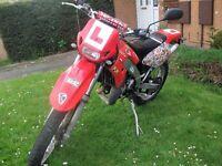 50cc Supermoto Peugeot XP6 trials bike