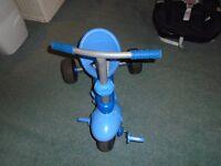 Smart trike 3 wheel bike Blue Smart Trike