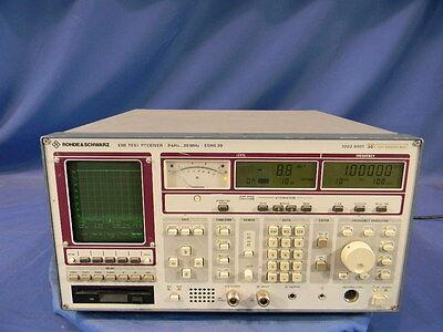 Rohde Schwarz Eshs30 9khz To 30mhz Emi Test Receiver