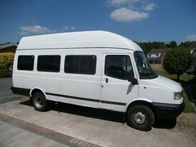 Ex HM forces minibus, Seats removed , open cargo carrier , camper conversion etc.