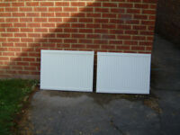 2 x Prorad Panel Radiator Type 11
