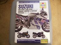 haynes workshop repair manual suzuki gsx-gsxr katanas