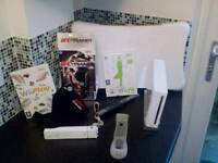 Nintendo Wii, fit and ufc trainer