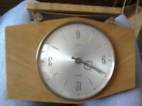 Broken vintage clock could be used for display