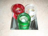 Party Lite Festival Trio Candle set