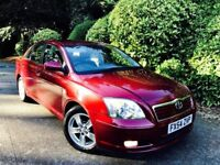 **ONLY DRIVEN 19K MILES** TOYOTA AVENSIS 1.8 T3X 4DR + FULL 12 STAMP TOYOTA HSTRY + 1 OWNR +SHOWROOM