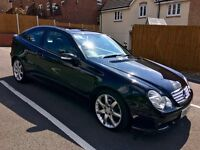 2007 MERCEDES C CLASS C220 CDI SE 2DR BEAUTIFUL CONDITION! FULL SERVICE HISTORY!!