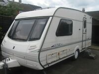 ABBEY AVENTURA CARAVAN 2 berth 2004 in very good condition