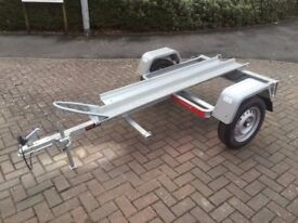 BRAND NEW Motorbike Motorcycle Trailer Tema Moto 1 with Ramp 750kg