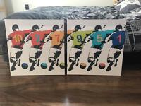 Football wall canvas from next
