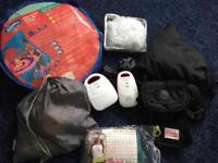 Various baby kit - Britax pushchair, medela breast pump, sling, monitor,mossy nets, swim ring