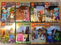 Minecraft my world fits Lego sets (£4 each or 3 for £10)