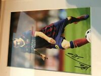 Barcelona Picture {Signed}.Camp Nou Stadium Door/Wall Sign,Barcelona vs RM Canvas Stadium.