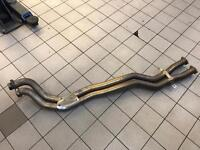 BMW E46 M3 exhaust centre section / mid pipe, cobra / top gear