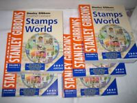 STANLEY GIBBONS – SIMPLIFIED CATALOGUE STAMPS OF THE WORLD – FULL SET 2007 - £30