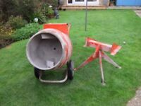 BELLE PETROL CEMENT MIXER (SELF BUILD) 4 STROKE 3 HP BRIGGS AND STRATTON ENGINE PWO