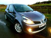 *REDUCED* 2007 RENAULT CLIO 1.4 DYNAMIQUE S IN GREY TOP OF THE RANGE (like Corsa Fiesta Polo 207)