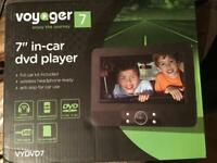 """Voyager 7"""" In Car DVD Player"""