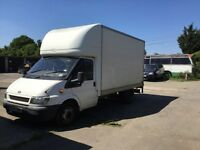 Ford Transit Luton LWB with tail lift