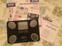 Tanita Body Composition Monitor (used once)