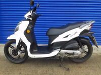 2014 SYM SYMPHONY 50CC SR50 MOPED SCOOTER , VERY LOW GENUINE MILES 500