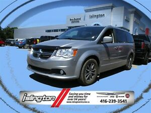 2016 Dodge Grand Caravan SXT - FWD, 3.6L V6 w/ LEATHER INT, STOW