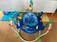 Baby Einstein Under The Sea Bouncer Jumperoo with Turning Seat