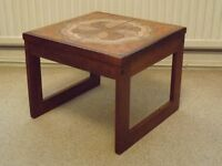 Wooden/Tile Coffee Table