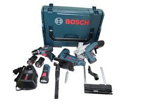 Bosch 10,8 V Akku Set GSR + GKS + GST  2 x Akku 2,0 Ah 1 x Ladegerät +Lbox